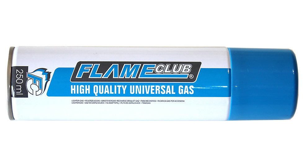 Butane Gas Refill FlameClub, 250ml