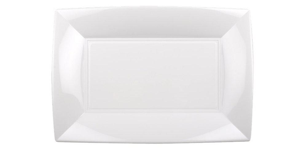 Disposable Plate Goldplast, Rectangular, PP, 5 Colors, 28x19cm
