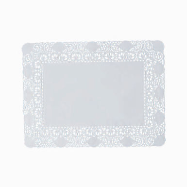 Rectangle Coaster Leone Regal, Paper, Lace, 250 pcs, ex. 40x50cm, in. 26x36.5cm