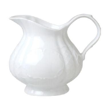 Milk Jug Gural Porselen Flora, Porcelain, White, 4 Sizes