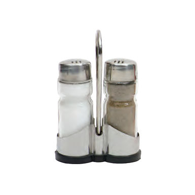 Salt&Pepper Shaker with Inox Base