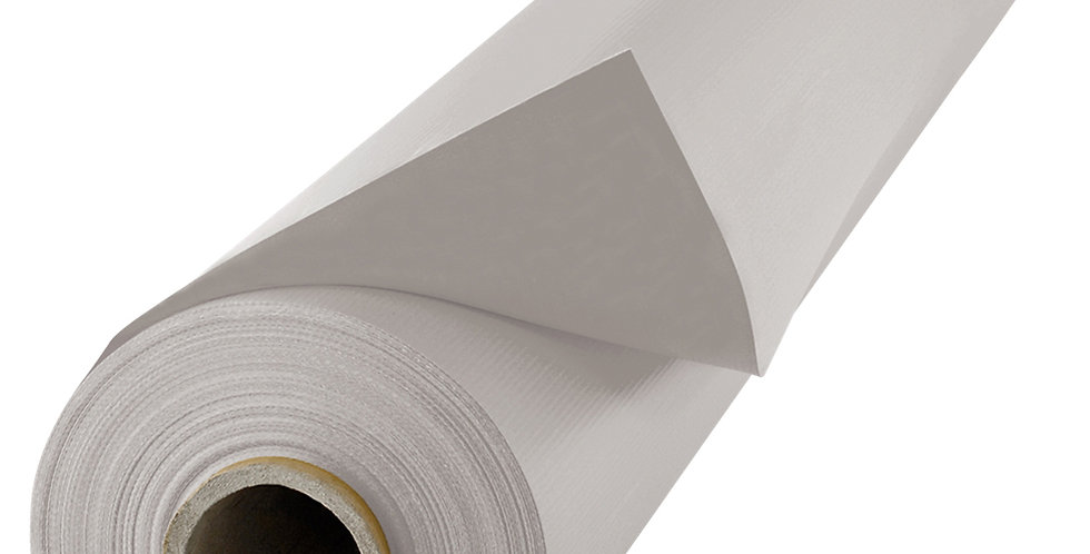 Blackout Curtain Roll, Light Gray, 3x20m