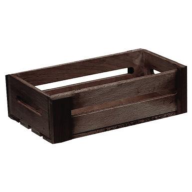 Bread Basket Crate, Wooden, 18x25x7.5cm, 2 Colors