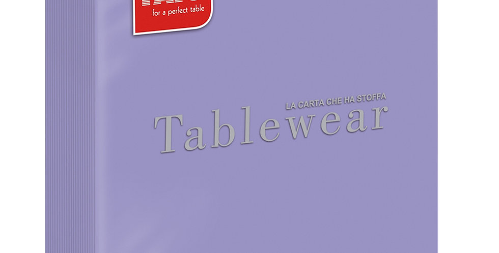 Napkin Fato Tablewear, Fabric Texture, Solid Color, Lilac, 50pcs., 40x40cm