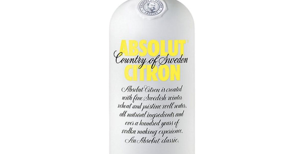 Absolut Citron Vodka, 1L