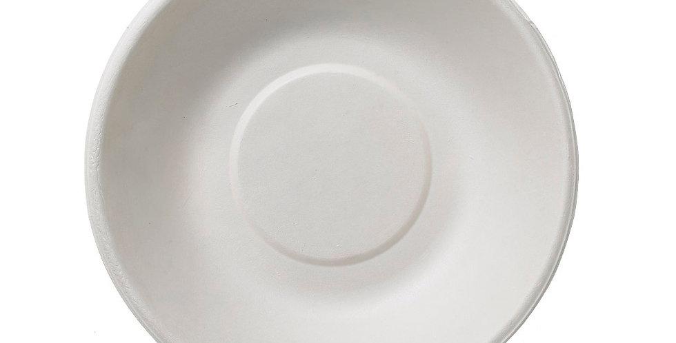 Bowl Leone, Biodegradable Cellulose Pulp, 50 pcs, Ø15x4cm