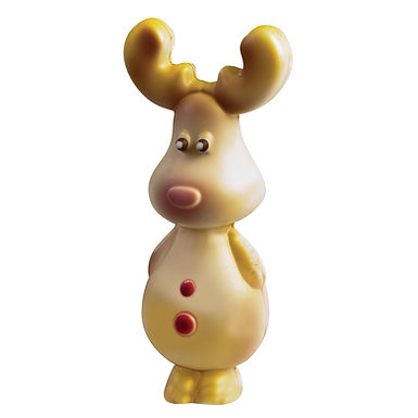 Big Reindeer Mold Martellato, Polycarbonate, 4 pcs, 43x43x120mm, 65g