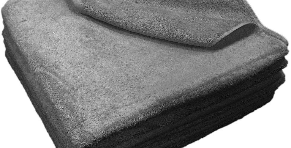 Beach Towel Fragente, Anthracite, 20/2, 500gr/m², 80x150cm