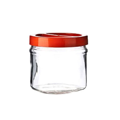 Jar Ortes, with Lid, Glass, 5000ml