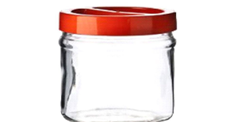 Jar Ortes, with Lid, Glass, 1000ml
