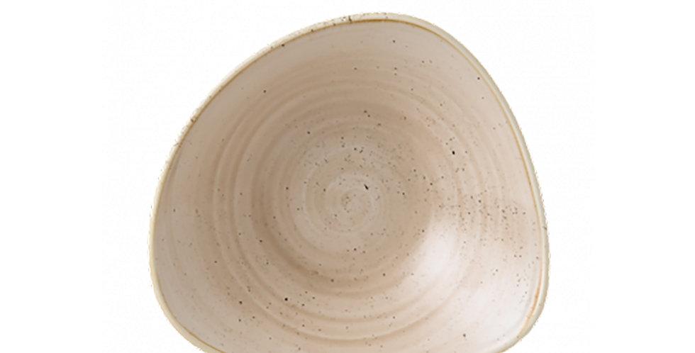 Bowl Churchill Stonecast, Triangle, Nutmeg Cream