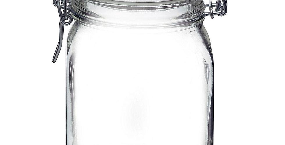 Jar Bormioli Rocco Fido, with Hermetic Lid, 1000ml