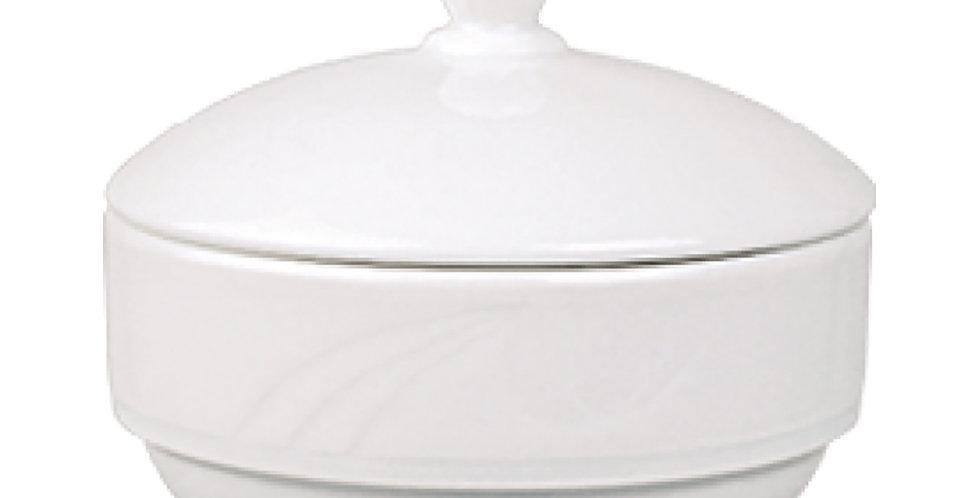 Sugar Bowl Gural Porselen Karizma, Porcelain, White, 180cc