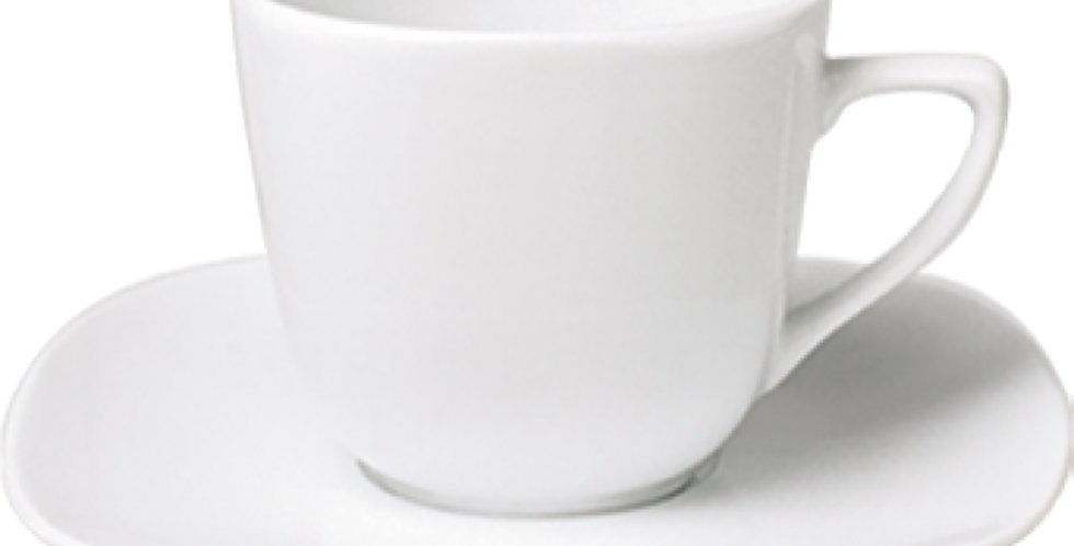 Cup Gural Porselen Mimoza, Porcelain, White, 2 Sizes