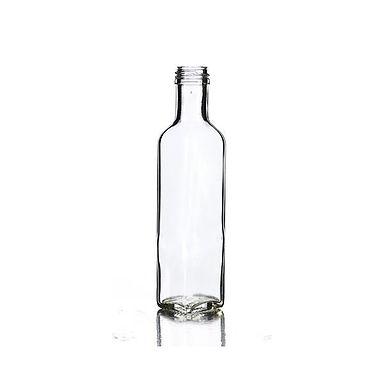 Bottle Marasca, Glass, Clear, 250ml, 31.5x18