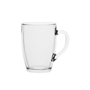 Mug Trend Glass Karl, 375ml