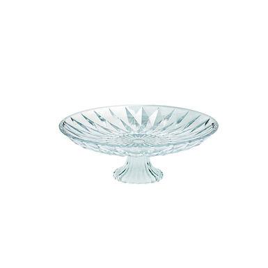 Cakestand Leone Frozen, Glass, 1 pc, Ø15.3x8cm