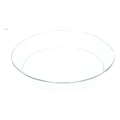 Disposable Plate, Round, PS, Transparent, 2 Sizes
