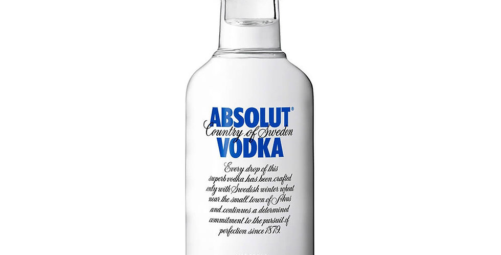 Absolut Blue Label Vodka, 50ml