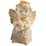 Angel with Trumpet Mold Martellato Silicone Idea, Silicone, 90x75x130mm