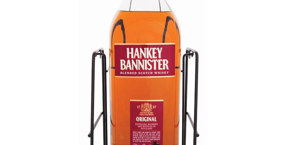 Hankey Bannister Scotch Whisky, 4.5L