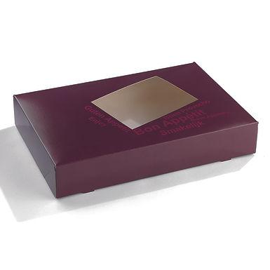 Cardboard Box for Platters Sabert, 55x37x8cm