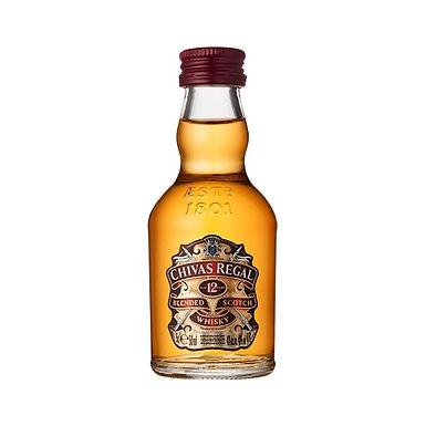 Chivas Regal Aged 12 Years Scotch Whisky, 50ml