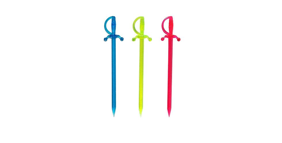 Sticks Saber, 3 Colors, 500pcs, 8cm