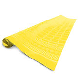 Disposable Tablecloth Roll Fato Damask, Yellow, 1.20x50m