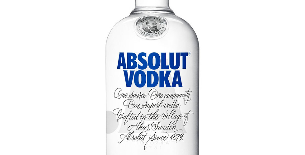 Absolut Blue Label Vodka, 700ml