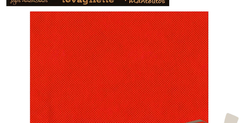 Placemat Pack Service Italia, Non Woven, Red, 33x45cm