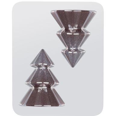 Christmas Tree Mold Martellato, Thermoformed Plastic, 4 pcs, Ø95x120mm, 100g