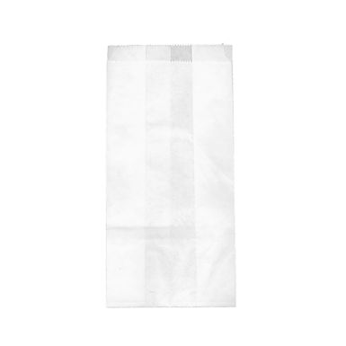 Pouch Bag, White, 12.5x28cm, 1kg