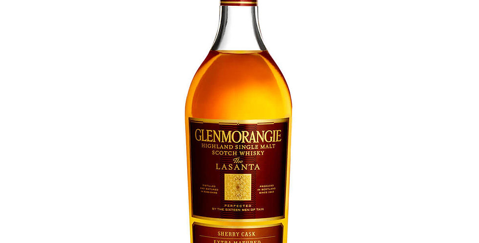 Glenmorangie Lasanta Aged 12 Years Scotch Whisky, 700ml
