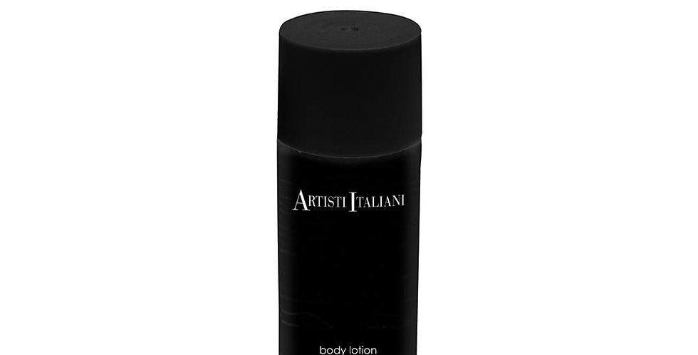 Body Lotion Artisti Italiani, Aloe Vera, Black Bottle, 40ml