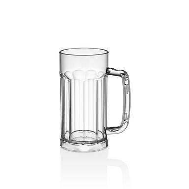 Beer Mug GastroPlast, PC, Clear, 580ml