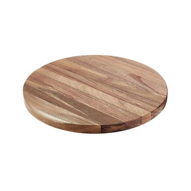 Buffet Disk Leone, Acacia, 1 pc, Ø33x2cm