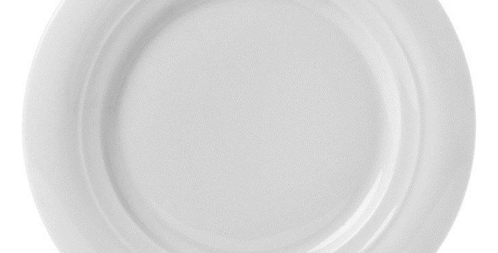 Flat Plate Gural Porselen Moscow, Porcelain, White, 4 Sizes