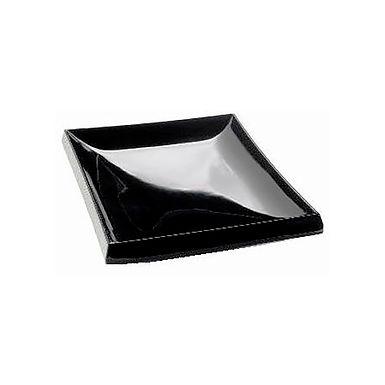 Plate Leone Rubino, Melamine, Black, 1 pc, 25x17.5x3cm