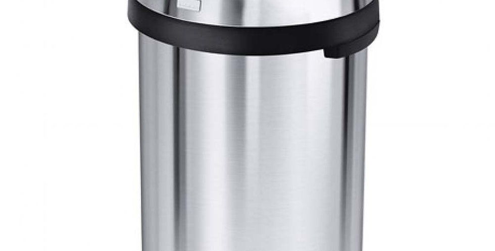 Bullet Open Bin simplehuman, Heavy-Gauge Brushed Stainless Steel, 115L