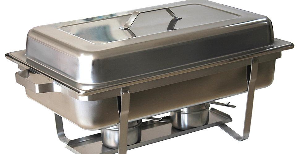 Bain Marie Chafing Dish, Inox, GN1/1, 60x35x31cm