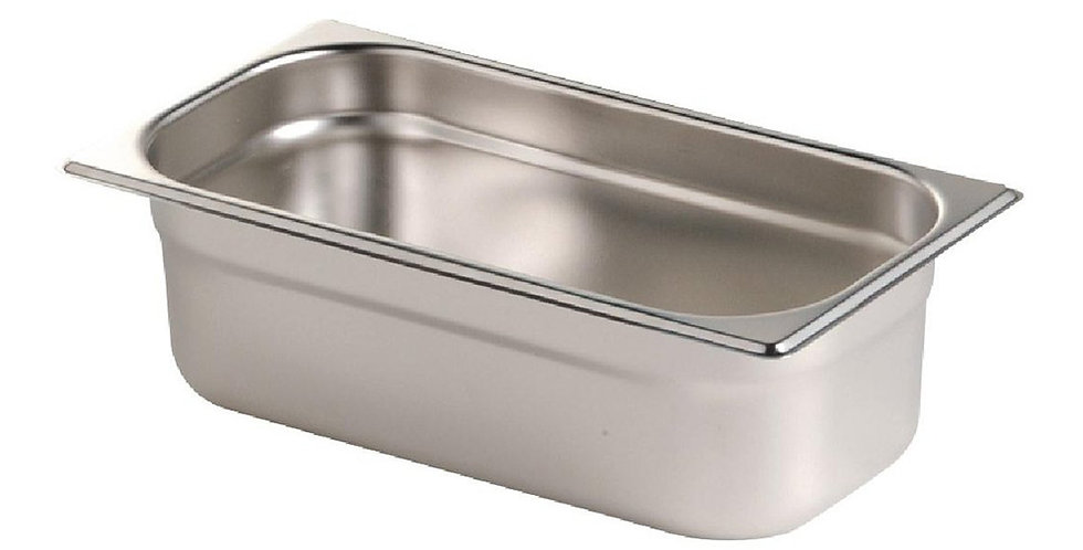 Gastronorm Pan, Stainless Steel, GN1/3