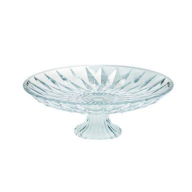 Cakestand Leone Frozen, Glass, 1 pc, Ø20x8.5cm