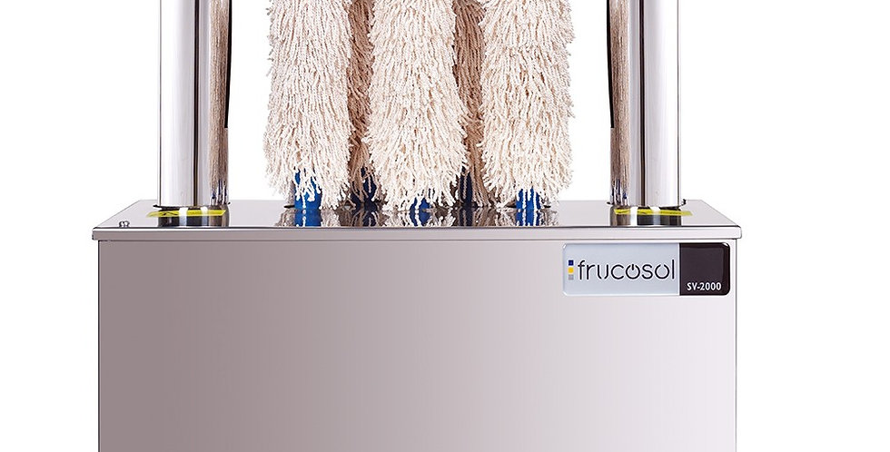 Glass Polisher Frucosol SV2000, 7 Brushes, Hot Air, up to 500 pcs. / hour