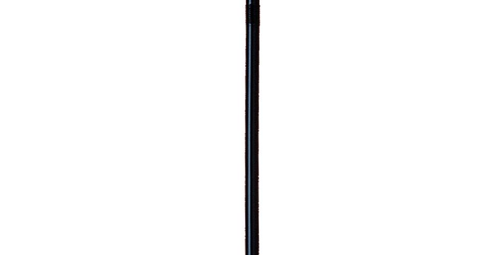Straw, Flexible, Black, 1000pcs, Ø5x250mm