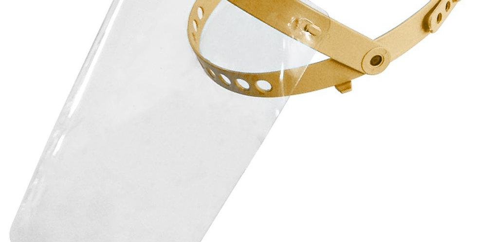 Face Shield - Visor, Adjustable Mechanism, PP Crown, PET Visor