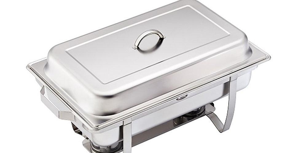 Rectangular Chafing Dish Leone Mercury, SS 18/10, 1 pc, 58. 5x35x32cm