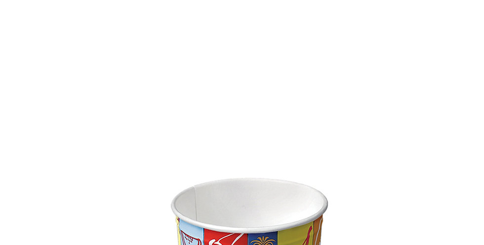 Paper Cup for Ice Cream, Ø64.5x37mm, 75ml