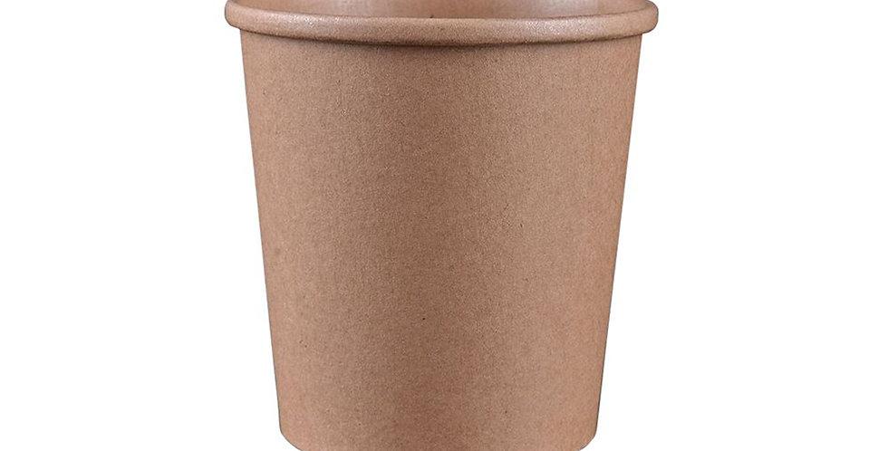 Disposable Cup, Kraft Paper, Biodegradable, Ø11.7cm, 750m