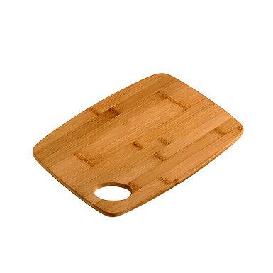 Cutting Board Leone Japan, Bamboo, Natural, 1 pc, 30x22x1cm